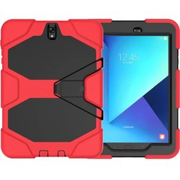 Wholesale Military Tough Case Cover - Tough RUGGED MILITARY DUTY Shock Proof Dirt Proof Armor STAND Case Cover For Samsung Galaxy Tab E 9.6 T560 T561(NOT FOR T560NU)