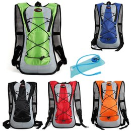 Wholesale Tank Bags Backpack - Portable travel Water Bag Tank Backpack Water Bag 2L Hydration Bladder Hiking Motocross Riding Backpack Hiking Climbing bag