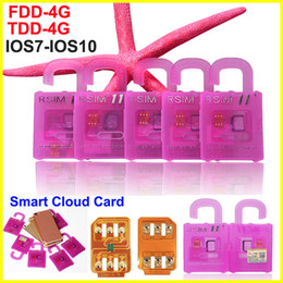 Wholesale Iphone Unlock Sim Sprint - Rsim 11 + R-SIM 11+ RSIM11 plug perfect unlocking card for iPhone 7 7p 5 6 6plus iOS 10 7 8 9 ios7-10.x CDMA GSM WCDMA SB SPRINT 3G LTE 4G