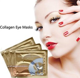 Wholesale Collagen Mask For Sale - New Pilaten Crystal Collagen Eye hot sale Mask , Dark circle,moisture For Eyes Care DHL Free