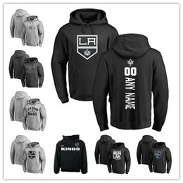 Wholesale Crown Collection - Men's Sweatshirts Los Angeles Kings Personalized Backer Hometown Collection The Crown Victory Arch Fleece Pullover Hoodie