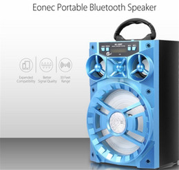 Wholesale 15w Speaker - LED Mobile Multimedia 15W MS-188BT Multi-functional Wireless Bluetooth Speaker Big Drive Unit Bass Colorful Backlight FM Radio Music Player