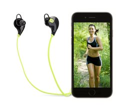 Wholesale Iphone Earphones Mic Green - US Stock! QY7 Mini USB Wireless Bluetooth 4.0 Earphones Headphones Stereo Earbuds Headset Mic for iPhone Sumsung Free Shipping