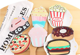 Wholesale Purses Etc - Wholesale- NEW 7Designs. Cake Etc. Snacks Coin BAG , 10cm gift Girl's Coin BAG Pouch ; Pocket Coin purse Holder Pouch Case