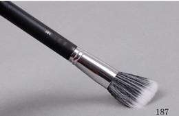 Wholesale 187 Brush - FREE SHIPPING HOT new Makeup 187 Foundation Blush Brush 20PCS