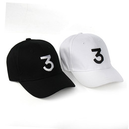 Wholesale Wholesale Designers Baseball Caps - fashion Chance 3 the rapper caps kanye west dad designer hats letter Baseball Cap snapback lovers Embroidered hat for men women snapbacks