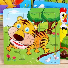 Wholesale Best Wooden Baby Toys - Free shipping 2017 educational wooden toys for children Early education jigsaw puzzle pieces kids toys for Baby the best gift