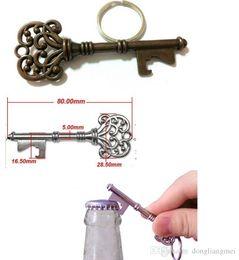 Wholesale Beer Uk - HouseHolds Novelty Mini UK Suck KeyChain Key Chain Beer BottleOPENER Bottle Opener Coca Can Opening tool #Y185