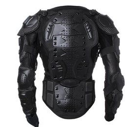 Wholesale Motorcycle Spine - Motorcycle Coat Man Full Body Armor Spine Chest Protective Jacket Back Support Motor Body Protector Relieve Ache New Arrival 74gm F