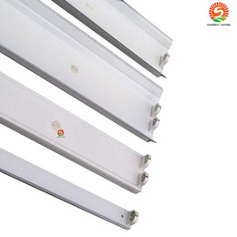 Wholesale Cool Lighting Fixtures - 1200mm 4ft T8 LED tube fixture for 1pcs 2pcs T8 led tube light 20pcs lot free shipping
