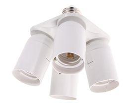 Adattatori divisori di divisori leggeri online-Flashpoint 4 Socket Adapter 4 in 1 Portalampada Convertitore Holder, Lampadine standard Lamp Socket Splitter per Photo Studio Lighting, Wo