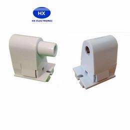 Base tubi condotti online-FA8 Base Type FA8s Base per lampada Portalampada ago singolo per basi per tubi a LED T8 T10 T12