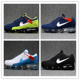Wholesale Running Shoes Size 47 - New Arrival Vapormaxes Plyknit Running Shoes Men Trainers Tennis Vapor Maxes 2018 Kpu Shoes Man Homme Sport Authentic Sneakers Size 40-47