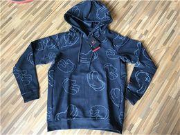 Wholesale X Xxl - 2017 Air Retro 4 KAWS Clothing Kaws XX Hoodis Men Jacket T-shirt Fleece Hoodis Original Quality X Clothes Sweat Cotton Summer Fasshion M-XXL