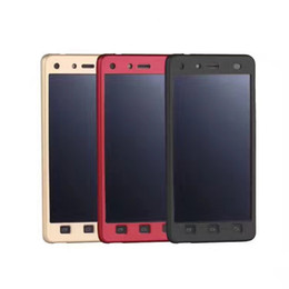 Wholesale L9 Cases - Infinix X602 X600 TECNO C8 W4 L9 ITEL 1513 S11 Plastic Back Cover with Tempered Glass 360 Protection Matte and Smooth Cases