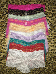 Wholesale lingerie boxers - Brand Women Plus Size M-XXL Briefs Underwear Panties Breathable Female Boxers Shorts Women Hipster Pants Panty Lingerie Free Shipping SJK
