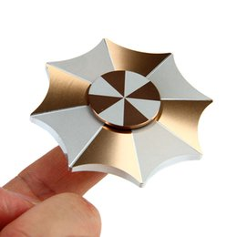 Wholesale Umbrellas For Kids - Fidget Hand Spinner Resident Evil Protective Umbrella Fingertip Gyro Alloy Metal Finger Spinning For Autism And ADHD Stress Relief Toys