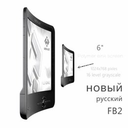 Wholesale Ebook E Ink - Wholesale- Refurbished Wexler Flex One FB2 Russian polymer eink screen e book reader ebook ink e ink book 110g 8GB 1024x768 pixels