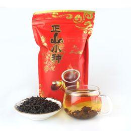 Wholesale Gift Secret - 200g Top Class Lapsang Souchong without smoke Wuyi Black Tea+Secret Gift+free shipping Organic tea Warm stomach the chinese tea