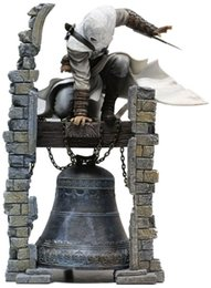 Wholesale Altair Figure - Assassin's Creed ALTAIR The Legendary Assassin Statue Ibn-La Ahad Edward PVC Figure Collectible Model Toy