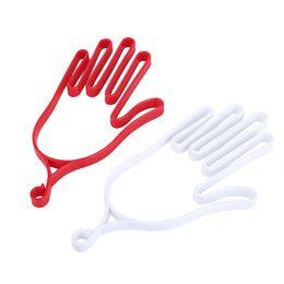Wholesale Wholesale Stretchers - Wholesale- Sports Golfer Tool Gear Plastic Golf Gloves Holder Rack Dryer Hanger Stretcher