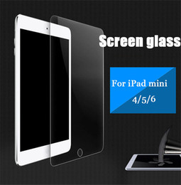 Wholesale Wholesale Ipad Mini Screen Films - 0.33mm 2.5D 9H Screen Protector For iPad Mini 4 iPad 5 6 Tempered Glass Film Clear Touth Film with Package Anti Shatter