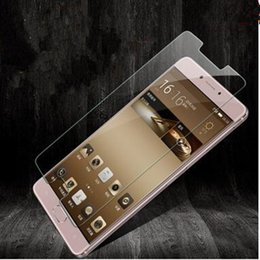 Wholesale Gionee Phones - Suitable for Gionee M6 tempered glass film 9H anti-fingerprint 0.26 mm arc edge HD mobile phone film