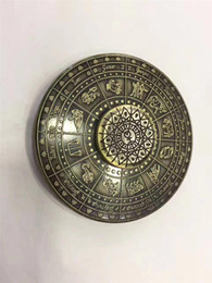 Wholesale Figit Toys - Rare Egypt 12 Constellation Ancient Fidget Spinner Metal EDC Cool Stress Toy Hand Spiner Handspinner Finger Figit Figet Spinner