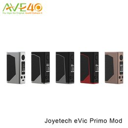 Wholesale High Rate Battery - Joyetech eVic Primo Mod 200W VS EVIC Dual Mod Powered by Dual 18650 High-rate Batteries 100% Original