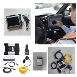 Wholesale Tablet Dutch - ICOM NEXT For BMW NEW GENERATION OF ICOM A2 With Laptop IX104 C5 I7&4G Tablet With Diagnosis Software V2017.09 SSD Perfect Work