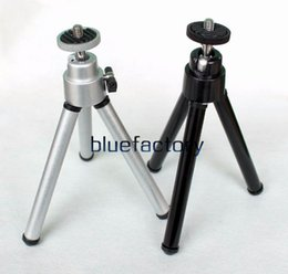 Wholesale holder for tripod - Universal Mini Monopod Tripod Stand Holder Portable 360 Rotatable Mount Tripod With Clip for Digtal Camera for iphone Samsung Mobile phone