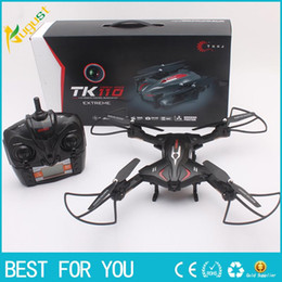 Wholesale Rotor Led - TK110HW 2.4G remote control aircraft charging helicopter high-definition aerial UAV control model helicopter rotor with LED light VR fuction