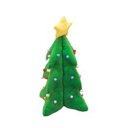 Плюшевая рождественская елка санта онлайн-Кукукос Санта-Клаус кукла Лось подушка Рождественская елка плюшевые игрушки рождественские украшения свадьба бросали подарки