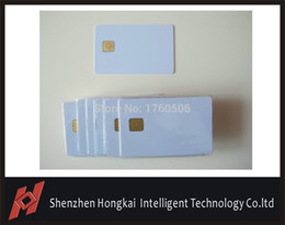 Wholesale Min Cards - Wholesale- Free shipping by DHL , IC card ,smart card ,chip 4442 card,contactless ic card, widely used in consumer systems +min:500pcs