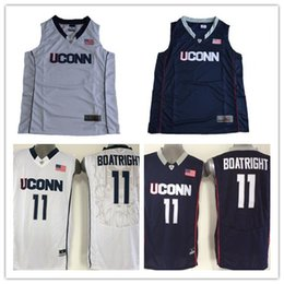 Wholesale Uconn Basketball - Mens Uconn Huskies College Basketball Custom #2 5 11 15 23 99 White Navy Blue Stitched Personalized Any Name Any Number Jerseys S-3XL