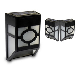 Wholesale Wholesale Solar Products New - The new hot products solar wall lamp body sensor LED pane lights factory direct
