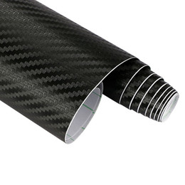Wholesale Vinyl Tools Accessories - 60cmx10cm Car Styling 3D 3M Carbon Fiber Sheet Wrap Film Vinyl Motorcycle Car Stickers And Decals Squeegee Tool Accessories