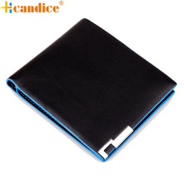 Wholesale Wholesale Leather Business Gifts - Wholesale- Hcandice Best Gift Hcandice New Men Stylish Bifold Business Leather Wallet Card Holder Coin Wallet Purse drop ship bea6623