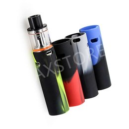 Wholesale Battery Covers - SMOK Vape Pen 22 Silicone Case Rubber Sleeve Protective Cover Silica Gel Skin For Smok Vape Pen 22 Battery Mod Starter Kit
