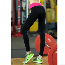Wholesale Wholesale Jogger Pants Women - Wholesale- Leggings Stitching High Elasticity Slimming Women Pant Fitness For Breathable Women Pant Joggers Sweat