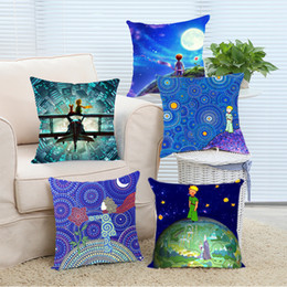 Wholesale Cosmic Print - Wholesale- The Cosmic Little Prince Home Cover 16x16 18x18 20x20 24x24 inch Two Size Zippered Home Pillowcase