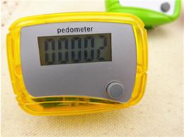 Wholesale Wholesale Single Function Pedometers - Walking Counter Pocket LCD Pedometer Single Function Pedometer Step Counter LCD Run Step Pedometer