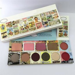 Wholesale New Nake - New Arrival 11 Colors Matte Eyeshadow Blush Powder Palette Eye Shadow Beauty Nake Make up cosmetics Tool