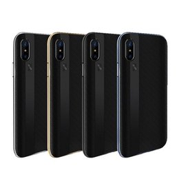 Wholesale Soft Silicone Frame Iphone - JOYROOM For iphone x Case 2in1 Armor PC Frame Soft TPU Back Cover Phone Cases for Iphone X