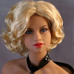 Wholesale Adult Supplies Sex Doll - Adult sex supplies real silicone sex dolls for men female silicone inflatable doll lifelike love real doll 140cm 158cm 165cm