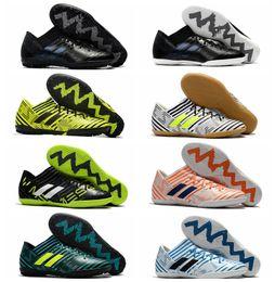 Wholesale Cheap Soft Ground Soccer Cleats - 2018 men soccer cleats Nemeziz Tango 17.3 IC TF soccer shoes indoor soft ground football boots cheap nemeziz 17 turf zapatos futbol mens