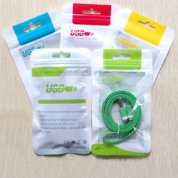 Wholesale Ear Phone Bags - 2017 Retail Package Bag Boxes for Cell Phone Charger Data Cables Audio Earphone in-ear Headphones iphone 6 plus 5 4 Samsung LG Nokia Packing