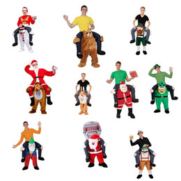 Wholesale Custom Mascots Costumes - Funny Carry Me Fancy Dress Up Ride On Oktoberfest Mascot Party Mascot Halloween Costume One Size Fits Most Fancy Pants