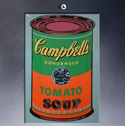 Arte andy warhol online-Andy Warhol Campbell's Soup Can 1965-1 pop art paint Wall Painting picture Home abstract Decorative Art Picture