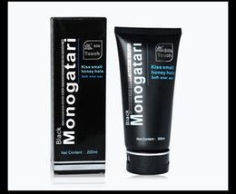 Wholesale Adult Lube - Monogatri Natural Sex Lubricant 200ml Anal Lubricants Thick Water-based Sex Oil Vaginal and Anal Gel Sex Lube For Adult Product
